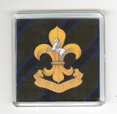KING'S REGIMENT FRIDGE MAGNET